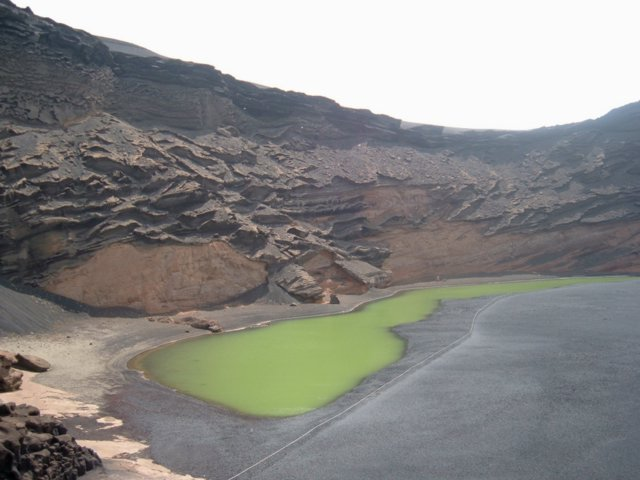 The volcanic El Golfo