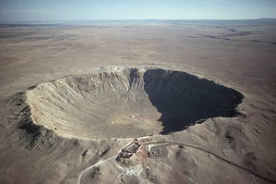 Meteor Crater near Flagstaff, AZ