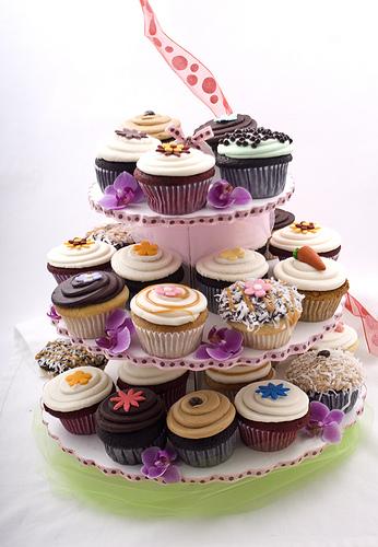 Cupcake Center Piece