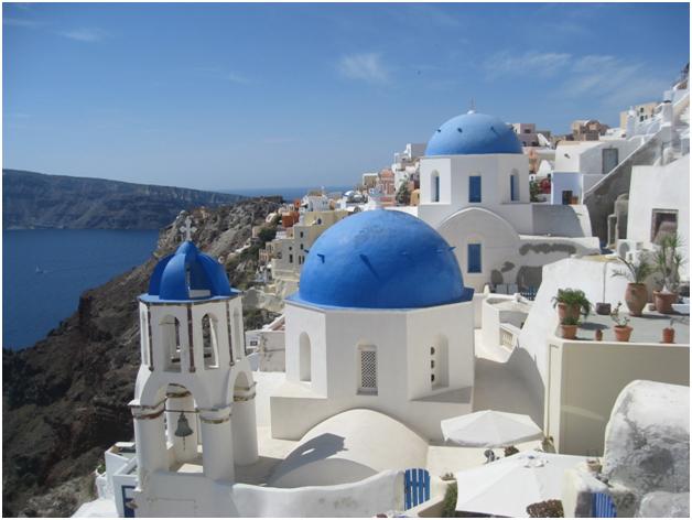 Buildings of Santorini